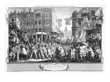 Industry and Idleness: the Industrious Prentice Lord Mayor of London, November 9, 1746