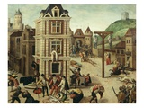 Saint (St) Bartholomew's Day Massacre (Of Protestants), 24 August 1572