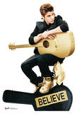 Justin Bieber Believe with Guitar Lifesize Standup Poster Stand Up