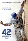 42 - Jackie Robinson Movie Poster
