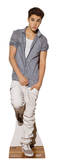 Buy Justin Bieber Checkered Shirt Lifesize Standup Poster at AllPosters.com