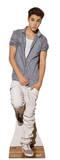 Justin Bieber Checkered Shirt Lifesize Standup Poster Cardboard Cutouts