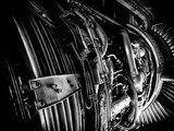 The Engine of a 737-400