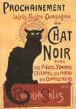 Buy Chat Noir - Vintage Style Poster at AllPosters.com