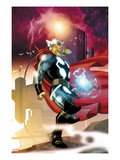 Thor #615 Cover: Thor Walking Art Print