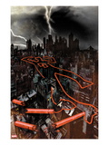 Daredevil: Reborn No.1 Cover: The City at Night