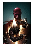 Shadowland: Ghost Rider No.1 Cover: Ghost Rider and Daredevil Posing
