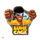 Marvel Super Hero Squad Badge: Luke Cage Posing