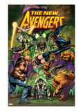 New Avengers No.16.1 Cover: Green Goblin, Luke Cage, Thing, Spider-Man, Norman Osborn, and Others