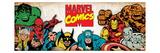 Marvel Comics Retro: Hulk, Thor, Spider-Man, Wolverine, Captain America, Iron Man, and Thing