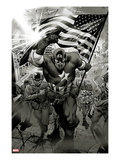 Captain America: Man out of Time No.1: Captain America Charging