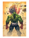 Incredible Hulk No.1 Cover: Hulk Standing