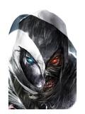 Shadowland: Moon Knight No.3 Cover: Moon Knight Posing
