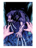 Wolverine & The X-Men: Alpha & Omega No.2 Cover: Wolverine Crouching