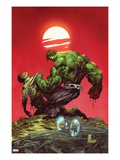 Incredible Hulk No.3: Hulk and Bruce Banner Fighting