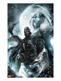 Shadowland: Moon Knight No.2 Cover: Moon Knight Standing