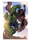 Incredible Hulks #635: Hulk and Red She-Hulk