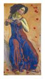 Entz�cktes Weib, 1911 Art Print