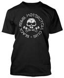Black Rebel Motorcycle Club - Classic Skull & Pistons (Slim Fit)