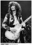 Led Zeppelin - Jimmy Page - Earls Court 1975 Poster