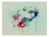 Ford Gt Top Watercolor