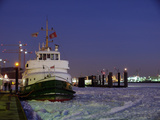 Winter at Hamburg Harbour