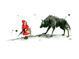 Red Riding Hood Giclee Print