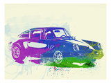 Porsche 911 Watercolor Art Print