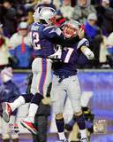 Tom Brady & Rob Gronkowski 2012 Action
