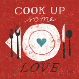 Cook Up Love Art Print