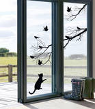 Kitty (Window Decal)