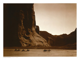 Navajos, Canyon De Chelly, c.1904 Art Print