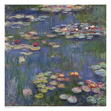 Buy Water Lilies (Nymphéas), c.1916 at AllPosters.com
