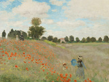 Poppy Field, Near Argenteuil, c.1873 Art Print