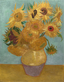 Sunflowers, c.1889 Art Print