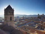 View of Potosi from Rooftop of Convento De San Francisco, Potosi (UNESCO World Heritage Site), Boli