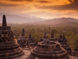 Indonesia, Java, Magelang, Borobudur Temple