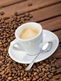 Buy Cup of Espresso and Coffee Beans at AllPosters.com