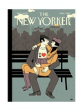 The New Yorker Cover - April 1, 2013 Gicl�e-Druck