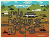 My Morning Jacket: Nashville, 2010 Serigraph