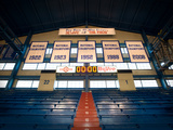 Kansas: National Championship Banners in Allen Field House