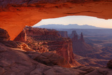 Morning at Mesa Arch, Canyonlands Fotografie-Druck