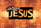 The Names of Jesus Laptop Skin Sticker