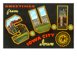 Greetings from S.U.I., Iowa City, Iowa