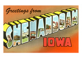 Greetings from Shenandoah, Iowa