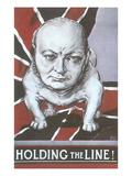 Winston Churchill as Bulldog, Holding the Line
