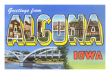 Greetings from Algona, Iowa