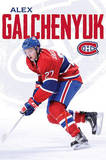 Alex Galchenyuk Montreal Canadiens Hockey Poster