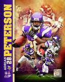 Adrian Peterson 2013 Portrait Plus