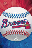 Atlanta Braves Logo Baseball Poster
